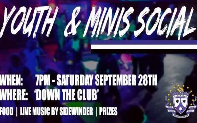Minis & Youths Social Night