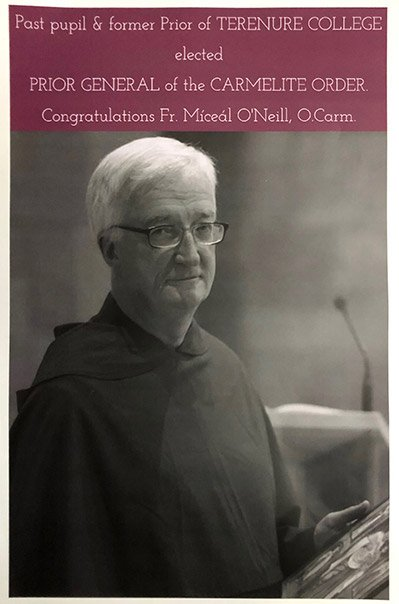 Past Pupils Elected To Highest Carmelite Office