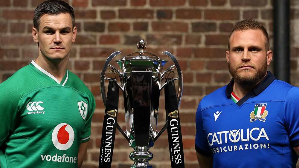 Ireland vs Italy Six Nations Match