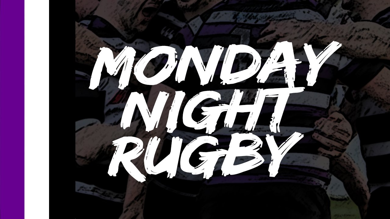Monday Night Rugby brought to you by Terenure College RFC