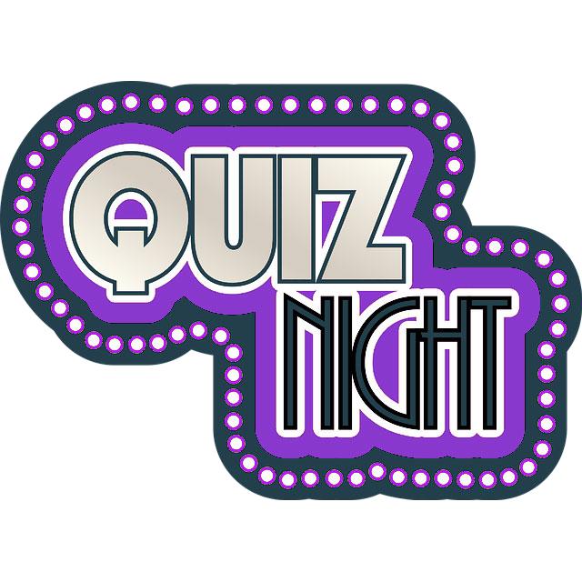 Club Online Quiz – Thursday 25th June 2020