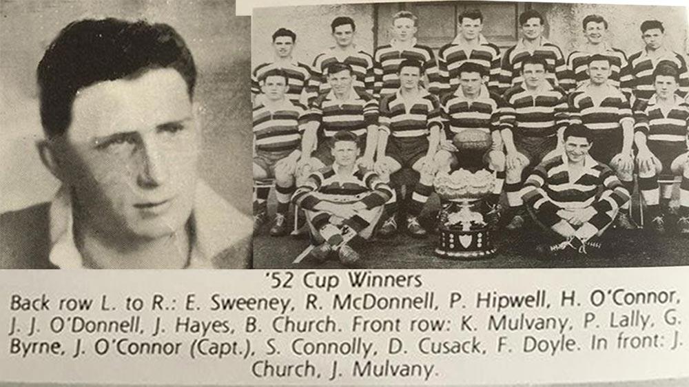Capt John O'Connor and 1952 Winning SCT