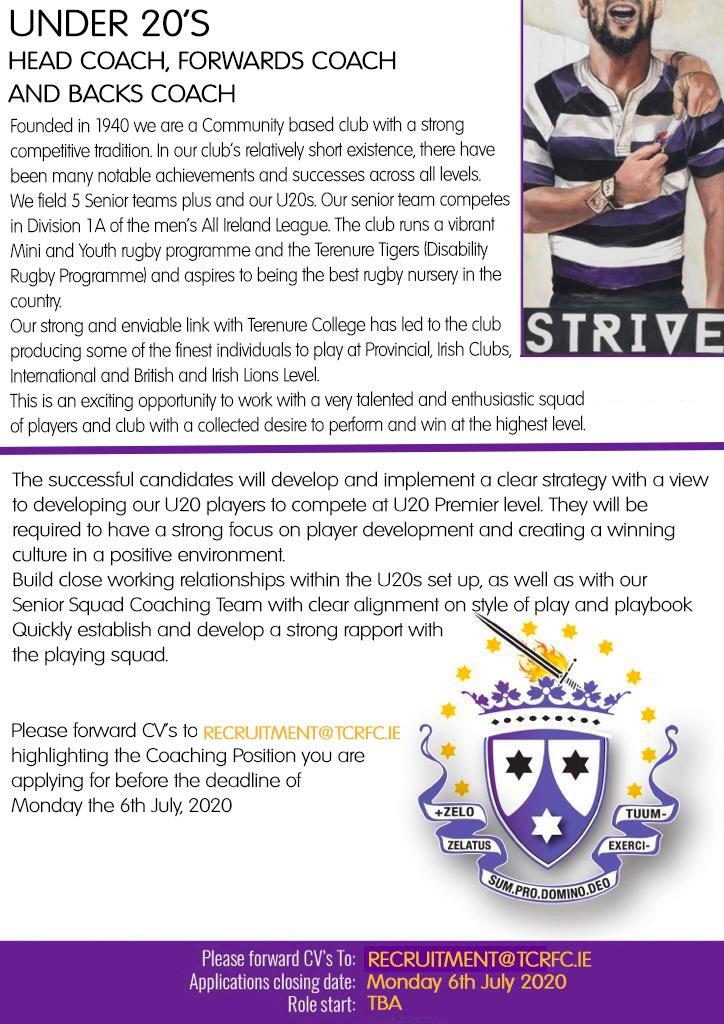 S&C Coach Ad
