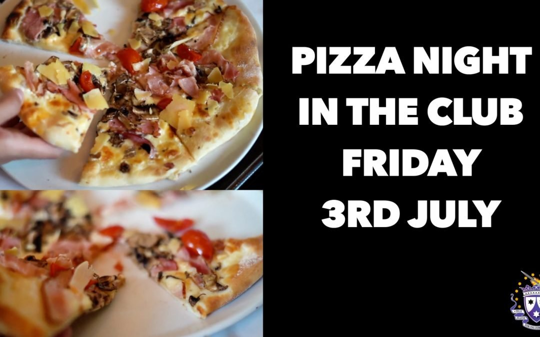 WE ARE BACK! Pizza Night In The Club.