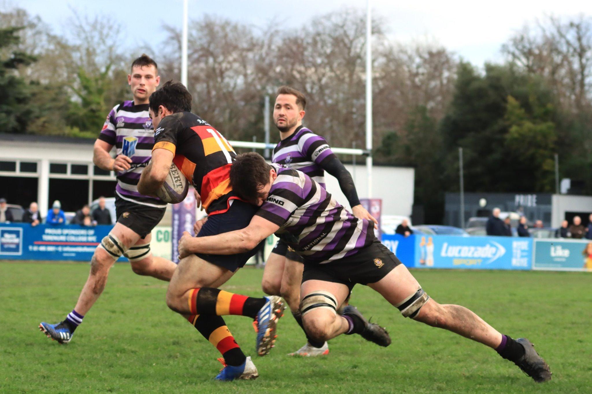 Terenure College RFC tackle Lansdowne
