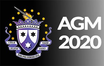 Club AGM on 14/08/20