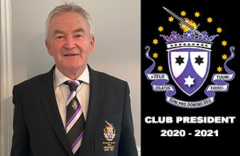 A Message From Our Club President 2020/21 – Marty Doyle