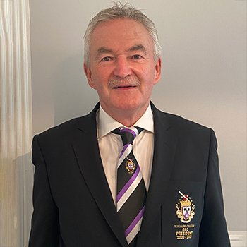Marty Doyle Terenure College RFC Club President 2020 - 2021
