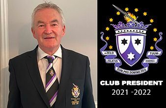 A Message From Our Club President 2021/2022 – Marty Doyle