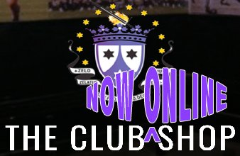 ONLINE CLUB SHOP NOW OPEN