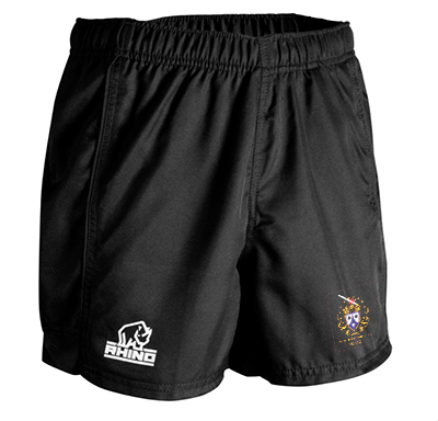 Terenure College RFC Crested Rhino Rugby Shorts