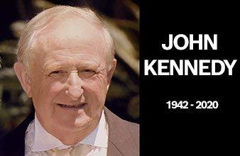 John Kennedy – RIP