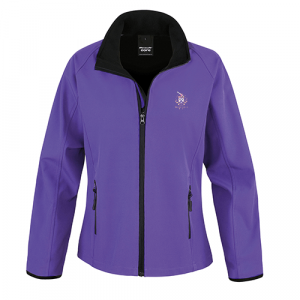 Ladies Softshell Jacket (Purple)