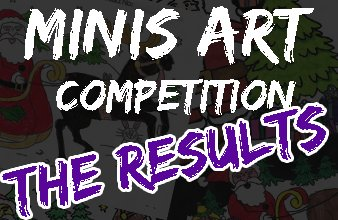 Mini Rugby Art Competition Winners!