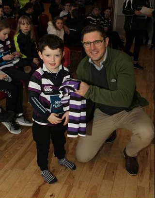 The Travel Expert sponsors Terenure College Rugby Club