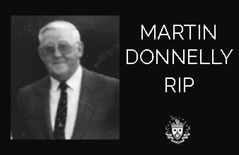 RIP Martin Donnelly