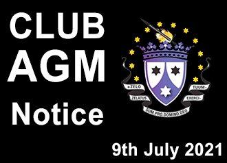 CLUB AGM Notification 2021