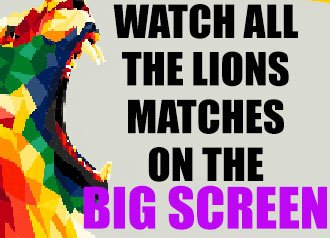 Club Event: Lions Screening